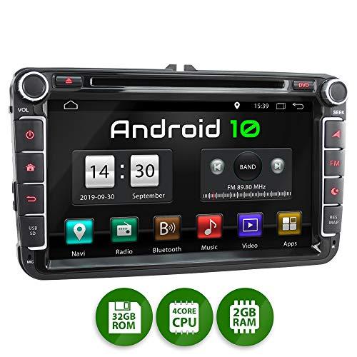 XOMAX XM-11GA Radio Coche Android 10 Adecuado VW Seat