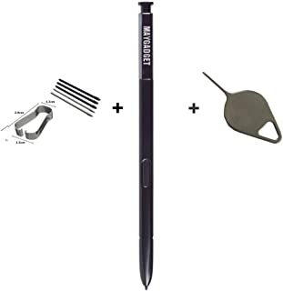 Maygadget Note 8 Replacement S Stylus Pen Pointer Pen for Samsung Galaxy Note 8 Note8 +Replacement Tips / Nibs+Eject Pin-Black