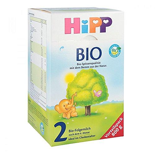 Hipp 2 Bio Folgemilch 2047 800 g, nach dem 6. Monat