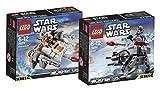 LEGO Star Wars Set Snowspeeder 75074 + AT-AT 75075