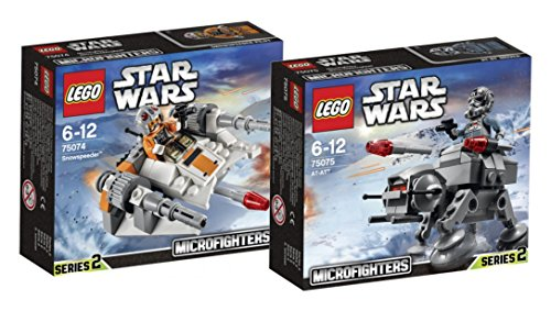 LEGO Star Wars Set - Snowspeeder 75074 und at-at 75075 - 9120063893874