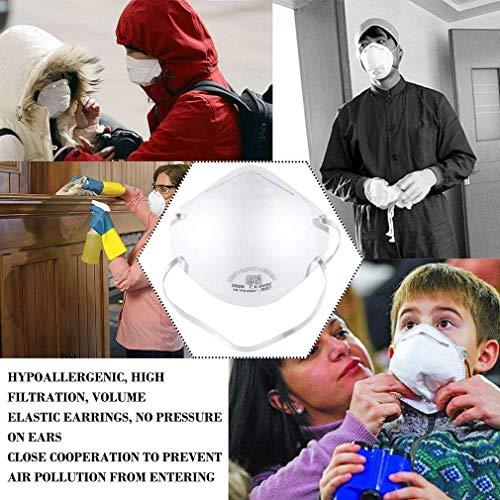 10 STÜCKE N95 FFP2 Mund Staubschutzmaske Falten Schutzmaske Hängen(Eine Million Masken sind auf Lager, und Bestellungen Werden Heute versendet.) - 6