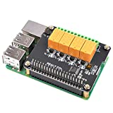 MakerFocus Raspberry Pi Expansion Board 4 Channel Relay Board Module Power Relay Module fo...