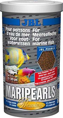 JBL MariPearls 40591 Alleinfutter für Meerwasserfische, Granulatfutter 1 l