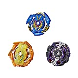 BEYBLADE Burst Rise Hypersphere Battle Guardians 3-Pack  -- Solar Sphinx S5, Gargoyle G5, Sword Valtryek V5 Battling Top Toys, Ages 8 and Up