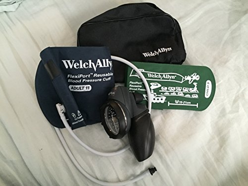 Welch Allyn Platinum Series DS58 Aneroid Gauge with Family Practice Kit