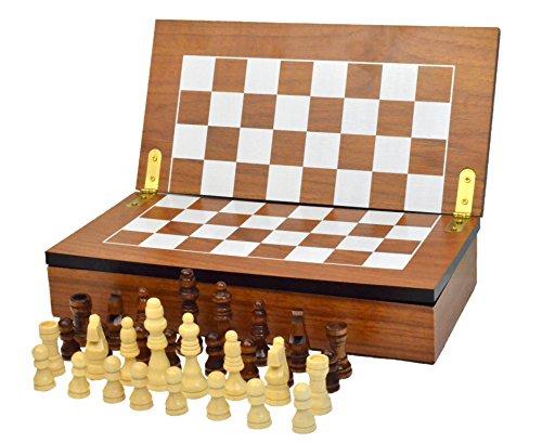 Chess Armory Chess Set Box Compact Collapsible Folding Chess Set