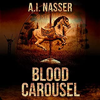 Blood Carousel audiobook cover art