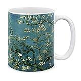 N\A Classic Art Mandorlo in Fiore di Van Gogh in Ceramica Tazza di caffè Tazza da tè, 11 OZ
