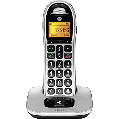Motorola Schnurlostelefon, 0, schwarz/Silber, 0