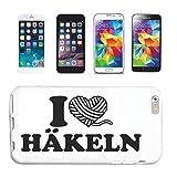 Reifen-Markt Funda para teléfono móvil compatible con Samsung Galaxy S3 Mini, diseño con texto 'I Love Hook'
