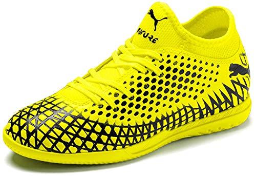 Puma FUTURE 4.4 IT Jr, Unisex-Kinder Fußballschuhe, Gelb (Yellow Alert-Puma Black 03), 28 EU (10 UK)