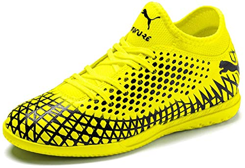 Puma FUTURE 4.4 IT Jr, Unisex-Kinder Fußballschuhe, Gelb (Yellow Alert-Puma Black 03), 28 EU (10 UK)