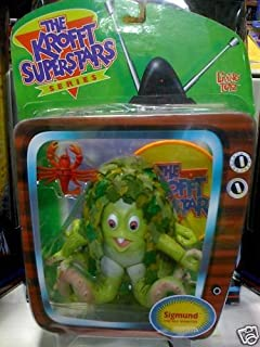 The Krofft Superstars Sigmund the Sea monster Action Figure