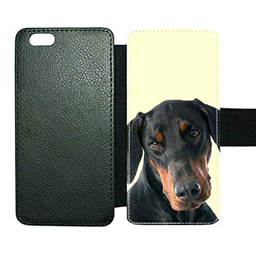 For Boys Amusing Card Slot Covers Cases Compatible Apple Iphone 6 Plus Print With Doberman Pinscher Choose Design 113-3