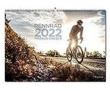 Yohmoe® Rennrad Kalender 2022 by Markus Greber im großen Panorama-Format. Freu Dich auf deine Tour 2022