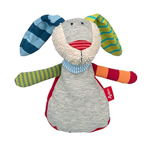 SIGIKID Niñas y niños, cojín de calor con forma de conejo, recomendado a partir de 0 meses, gris, 39380