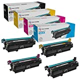 LD Compatible Toner Cartridge Replacement for HP 653A & HP 653X High Yield (1 Black, 1 Cyan, 1 Magenta, 1 Yellow, 4-Pack)