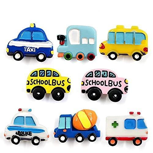 YANGHONDD Licuadora, autobús Escolar, Taxi, Coche, refrigerador, Pizarra, Dibujos Animados, refrigerador, Pegatina, Mensaje, decoración del hogar