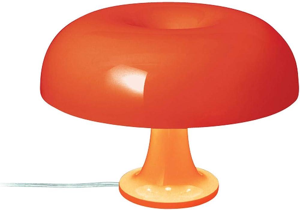 Artemide nessino bianco, lampada da tavolo,in policarbonato 0039070A A