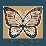 Butterfly Journal: Beautiful Painted Design
