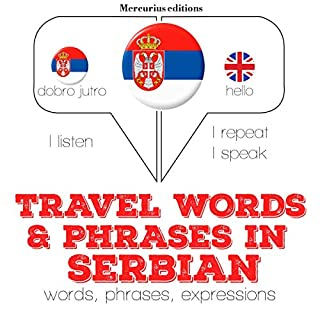 Travel words and phrases in Serbian cover art