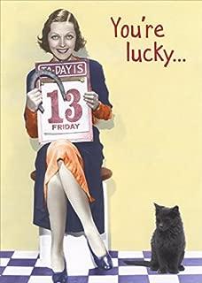 Lucky Charm Woman Funny Feminine Birthday Card