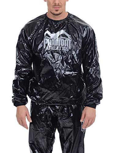 Phantom Schwitzanzug – Sauna Suit zum Abnehmen – Herren, Damen Sweatsuit (S/M)