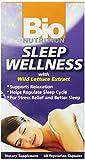 Bio Nutrition Sleep Wellness with Wild Lettuce Vegi-Caps, 60 Count