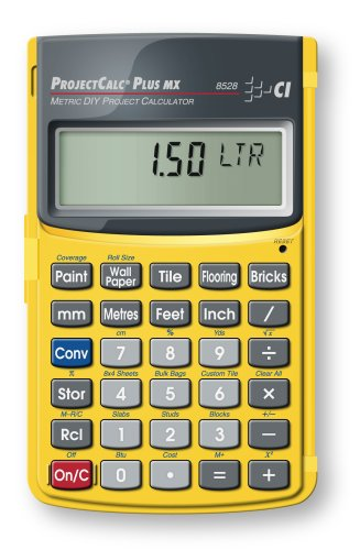 Calculated Industries 8528 Metric Do-It-Yourself Calculator