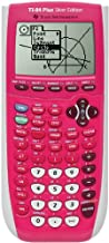 Texas Instrument 84 Plus Silver Edition graphing Calculator (Full Pink in color) (Packaging may vary)