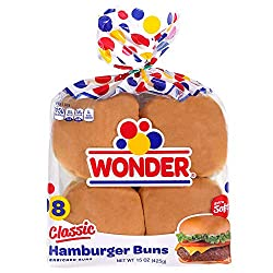 Wonder Bread Classic Hamburger Buns - 15 oz Package