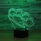 LED-Nachtlicht,Nachtlicht mit 7-farbigem Nachtlicht,Handschellen Pattern,baby,Kinder,Geburtstagsgeschenk,Nachttischlampe,Tischlampe,Kinderzimmer,Weihnachtsgeschenk