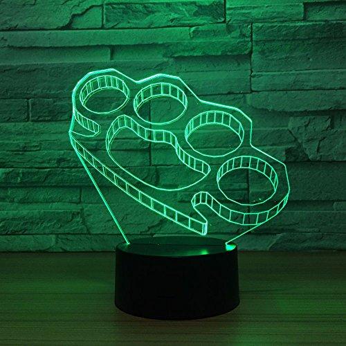 Jiushixw nachtlampje, acryl, 3D, met afstandsbediening, kleur tafellamp, babytafel, nachtgroen, zelff, hoge warmte, vissen, chroom, sculptuur, tafellamp