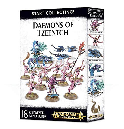 "Games Workshop 99129915043"" Start Collecting Daemons of Tzeentch Miniature"