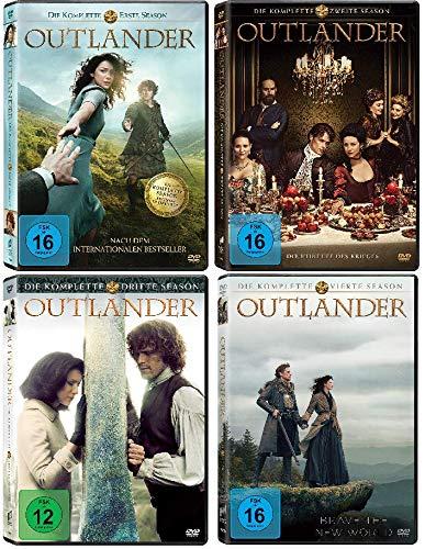 Outlander - Die komplette Season / Staffel 1 - 4 (1+2+3+4) im Set - Deutsche Originalware [22 DVDs]
