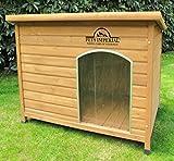 Notre avis : niche en bois de bonne qualité