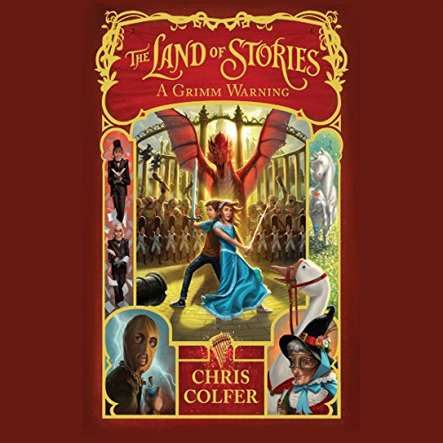 The Land of Stories: A Grimm Warning audiobook cover art