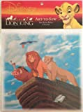Disney Art-to-Sew 8' Cotton Fabric Print Square for Crafts & Quilts (The Lion King 'A New Day')