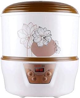 SJYDQ Yogourt en Vrac Maker + BPA sans Stockage récipient et Le Couvercle, Organique, Dragées, aromatisée, sans Sucre ou s...