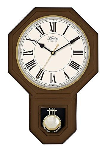 Acctim Woodstock Wall Clock Dark Wood - 28316