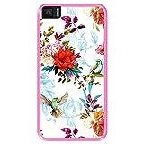 Hapdey Phone Case for [ Bq Aquaris M5.5 ] design [ Floral