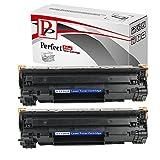 PerfectPrint Compatible Toner Cartridge - Cartucce di toner, Nero, Confezione da 2 pezzi