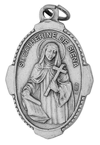 Venerare Traditional Catholic Saint Medal (Saint Catherine of Siena)