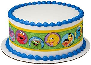 Sesame Street Cake Strips Licensed Edible Cake Topper #7567