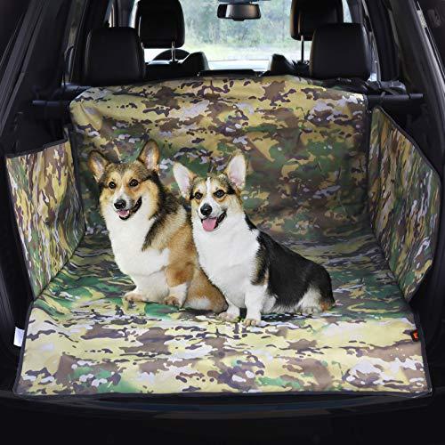 KingCamp Telo Auto per Cani Antiscivolo Resistente Universale Protezione Bagagliaio Impermeabile Tappeto per Bagagliaio Facile da Pulire Rivestimento in PVC per Auto SUV Truck