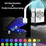 WC Nachtlicht Motion Sensor Toilette Licht UV sterilization LED Toilette