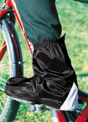 Hock Hock Schuhzubehör Fahrradgamaschen Gamas (Ausführung: schwarz Gr. 45-47 für SPD-Schuhe)