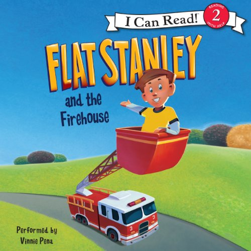 Flat Stanley and the Firehouse audiobook cover art