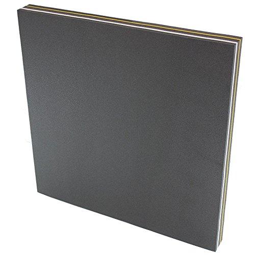 Promeus AG Zielscheibe Bogenschießen Bogensport Bogen 80 x 80 x 7 cm/Bogenschießscheibe Bogenscheibe Bogenzielscheibe